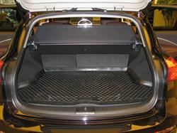 NLC7603B13 Коврик в багажник INFINITI EX35 2008-, кросс. (полиуретан)