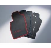 1724069 Коврики салона велюровые (к-т 4 шт.), цвет черный
