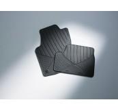1724235 Коврики салона передние резиновые (к-т 2 шт.), цвет черный