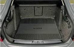 DCE800001 Коврик багажника Шкода Суперб 2008=>(пластик)