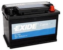 EC700 АКБ Classic 70Ah 640A 278x175x190 (-+)