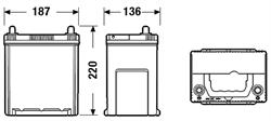 DA386 Аккумулятор DETA SENATOR3 12 V 38 AH 300 A ETN 0(R+) Korean B1 187x127x220mm 10.9kg
