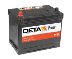 DB705 Аккумулятор DETA POWER 12 V 70 AH 540 A ETN 1(L+) B9 266x172x223mm 18.4kg