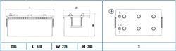EG2153 АКБ Heavy 12V 215Ah 1200A 518x279x240 (+-)
