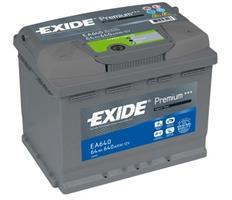 ea640 АКБ EXIDE Premium 12V 64Ah 640A 242x175x190 /-+/