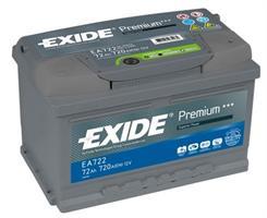 EA722 АКБ Premium 72Ah 720A 278x175x175 (-+)