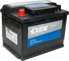 EC551 АКБ Classic 55Ah 460A 242x175x190 (+-)