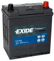 EA386 АКБ Premium 38Ah 300A 187x127x220 (-+)