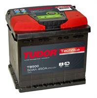 tb500 Аккумуляторная батарея TUDOR 190X207X175 Ток хол. прокрутки 450 A Емкость батареи 50 А/ч