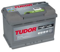ta770 Аккумуляторная батарея TUDOR 190X278X175 Ток хол. прокрутки 760 A Емкость батареи 77 А/ч