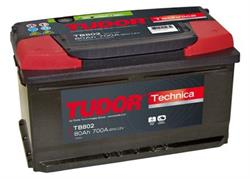 tb802 Аккумуляторная батарея TUDOR 175X315X175 Ток хол. прокрутки 700 A Емкость батареи 80 А/ч