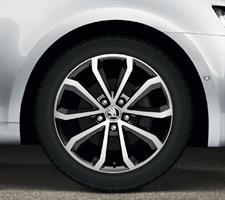 5E0071496JX2 Диск колеса лит. ОКТ A7 R17 HAWK BLACK 7Jx17