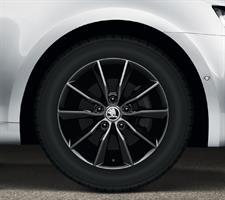 5E0071494JX2 Диск колеса лит. ОКТ A7 R16 Premia BLACK 6.5Jx16