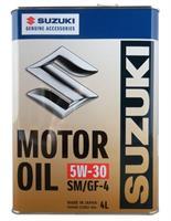 99M0021R02004 Масло SUZUKI MOTOR OIL SM 5W30 4L