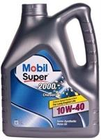 152626 Масло моторное 10W40 MOBIL 4л полусинтетика SUPER 2000 X1 Diesel