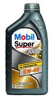 150012 Масло моторное 5W40 MOBIL 1л синтетика MOBIL SUPER 3000 X1