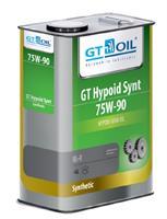 8809059407998 Масло трансмиссионное 75W90 GT OIL 4л синтетика GT Hypoid GL-4 Plus