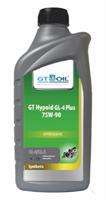 8809059407981 Масло трансмиссионное 75W90 GT OIL 1л синтетика GT Hypoid GL-4 Plus