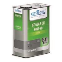 8809059407837 Масло трансмиссионное 80W90 GT OIL 4л синтетика GT GEAR Oil GL-5