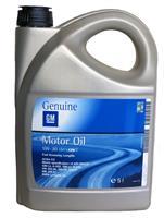 93165557 Масло моторное синтетика 5L, 5W-30 GM Dexos2 Fuel Economy, longlife / OPEL