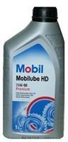 152662 Масло трансмиссионное 75W90 MOBIL 1л MOBILUBE HD