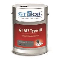 8809059407622 Масло трансмиссионное GT OIL 20л синтетика GT ATF Type III Dexron III