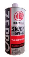 1849001 Масло моторное 1л ID-ZEPRO EURO SPEC SN/CF 5W40
