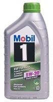 152622 Масло моторное 5W30 MOBIL 1л синтетика MOBIL 1 FORMULA ESP