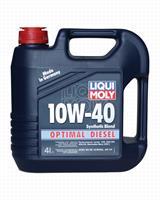 3934 Масло моторное 10W40 LIQUI MOLY 4л полусинтетика Optimal Diesel