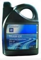 93165216 Масло моторное полусинтетика 10W-40 5L / OPEL