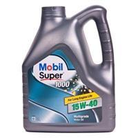 152570 Масло моторное 15W40 MOBIL 4л минеральное MOBIL SUPER 1000 X1