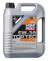 7661 Масло моторное 5W30 LIQUI MOLY 5л НС-синтетика Top Tec 4200