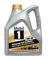 152558 Масло моторное 0W40 MOBIL 4л синтетика MOBIL 1