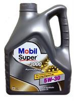 152564 Масло моторное 5W30 MOBIL 4л. синтетика MOBIL SUPER 3000 X1 FORMULA FE