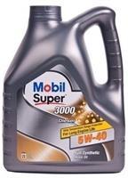 152572 Масло моторное 5W40 MOBIL 4л синтетика MOBIL SUPER 3000 X1 DIESEL